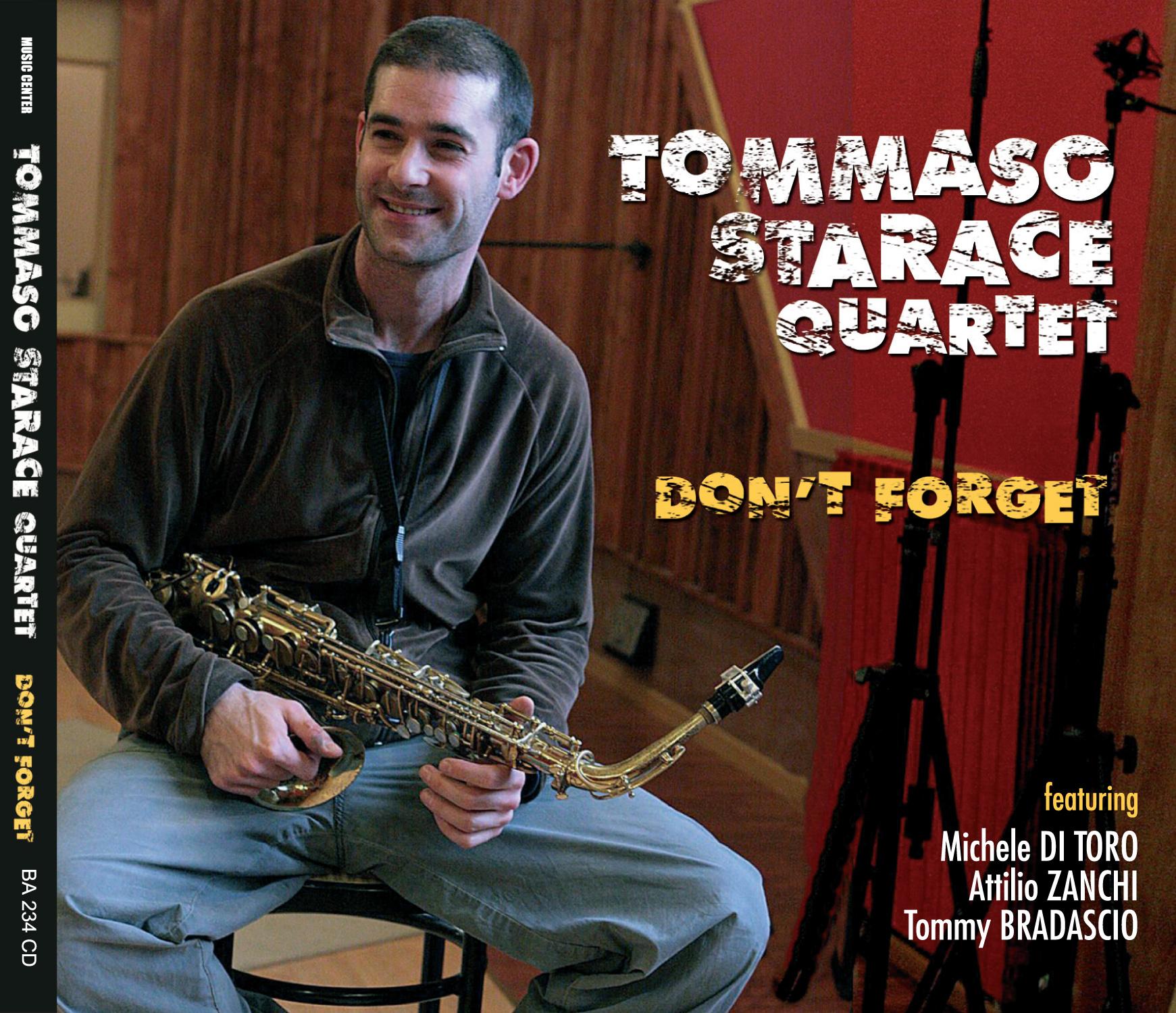 "Tommaso Starace Quartet ""Don't Forget"""