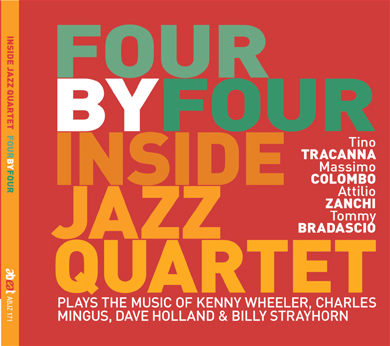 "INSIDE JAZZ QUARTET ""FOUR BY FOUR"""